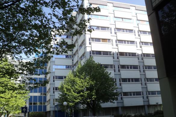 Twee kantoorflats